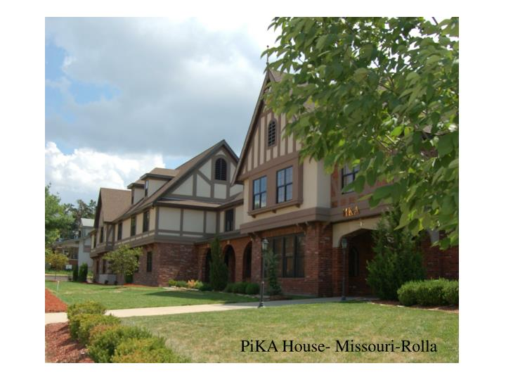PiKA House- Missouri-Rolla