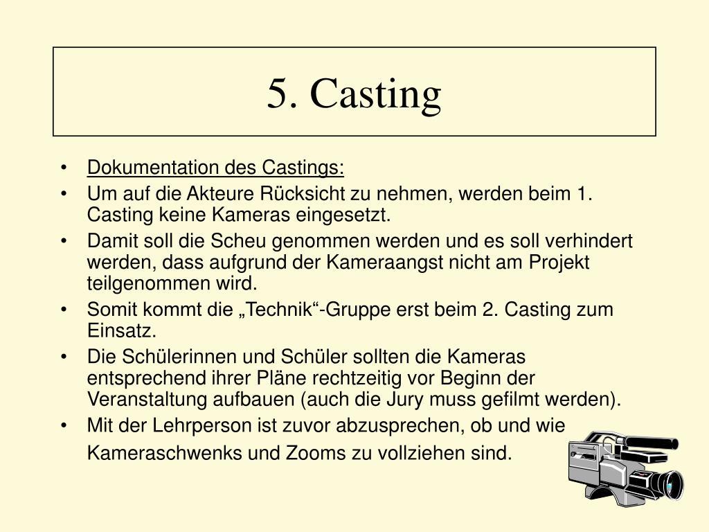 5. Casting