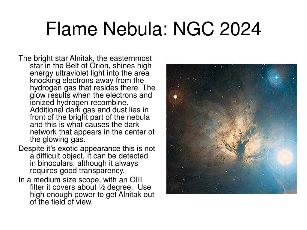 Flame Nebula: NGC 2024