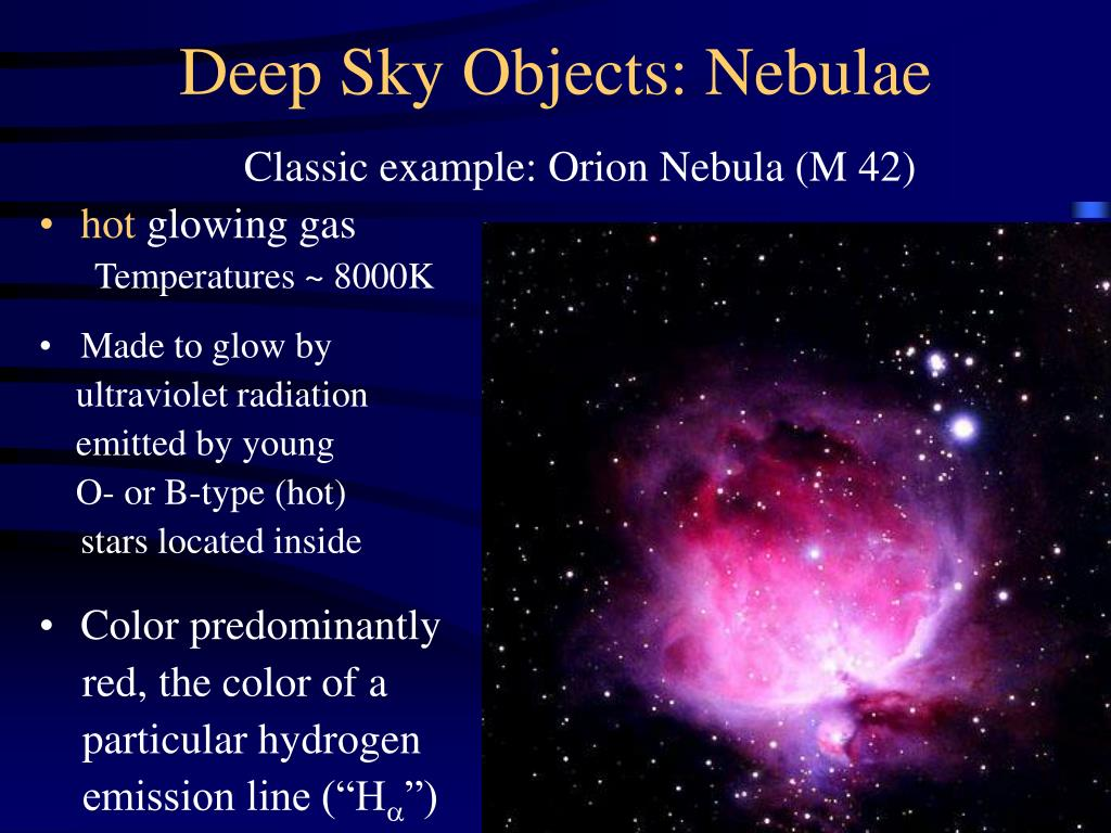Deep Sky Objects: Nebulae