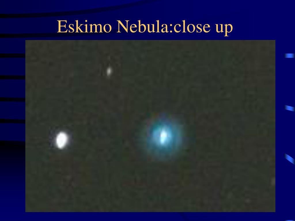 Eskimo Nebula:close up