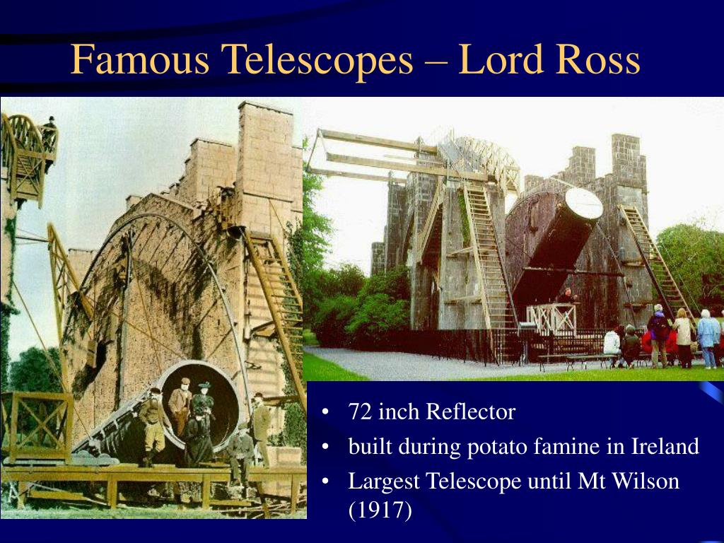 Famous Telescopes – Lord Ross