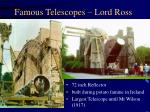 famous telescopes lord ross