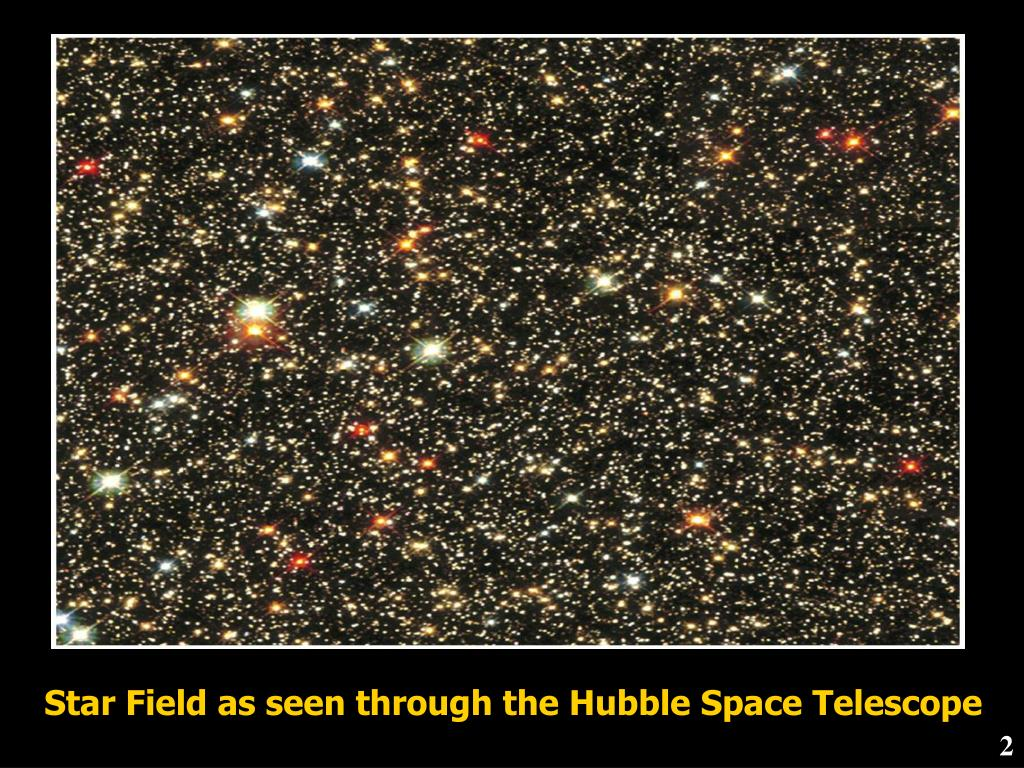 Star Field as seen through the Hubble Space Telescope