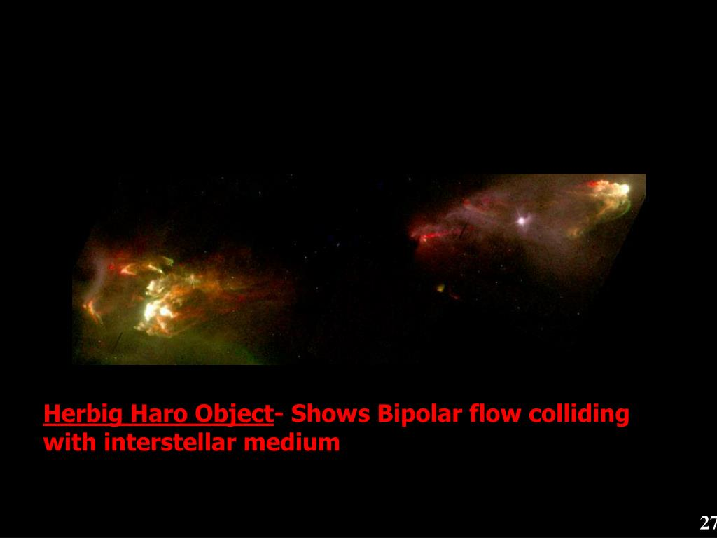 Herbig Haro Object