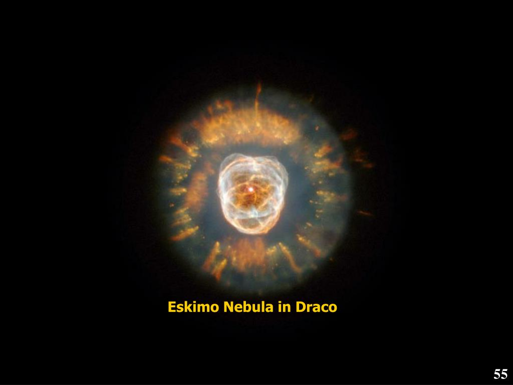 Eskimo Nebula in Draco
