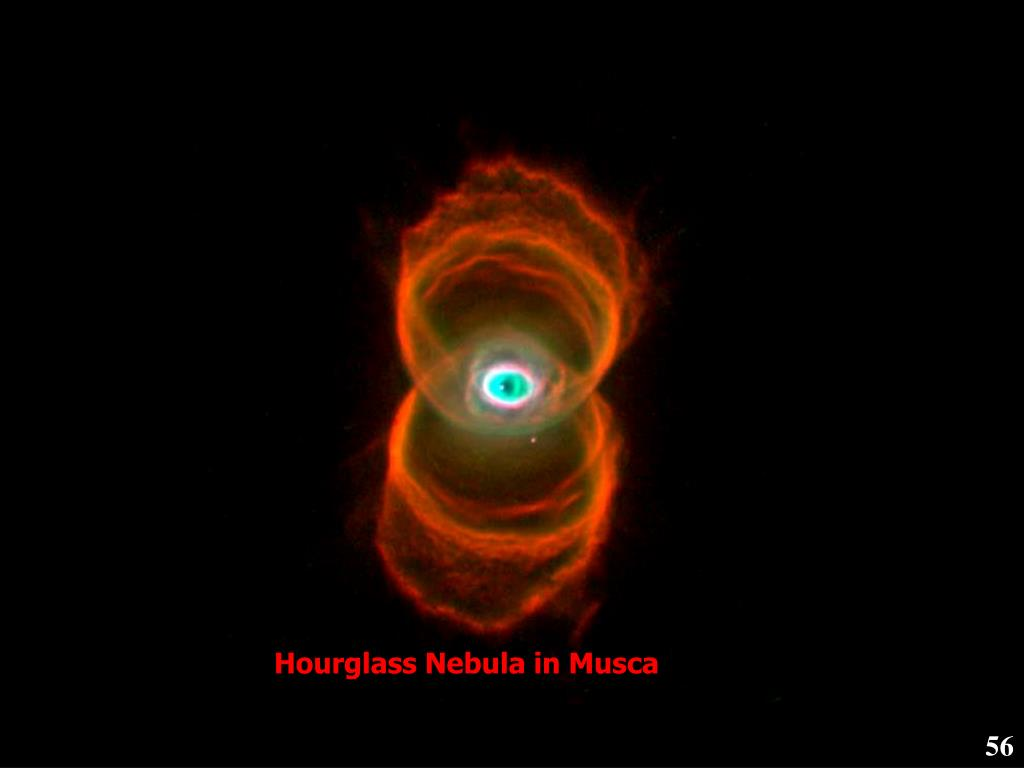 Hourglass Nebula in Musca