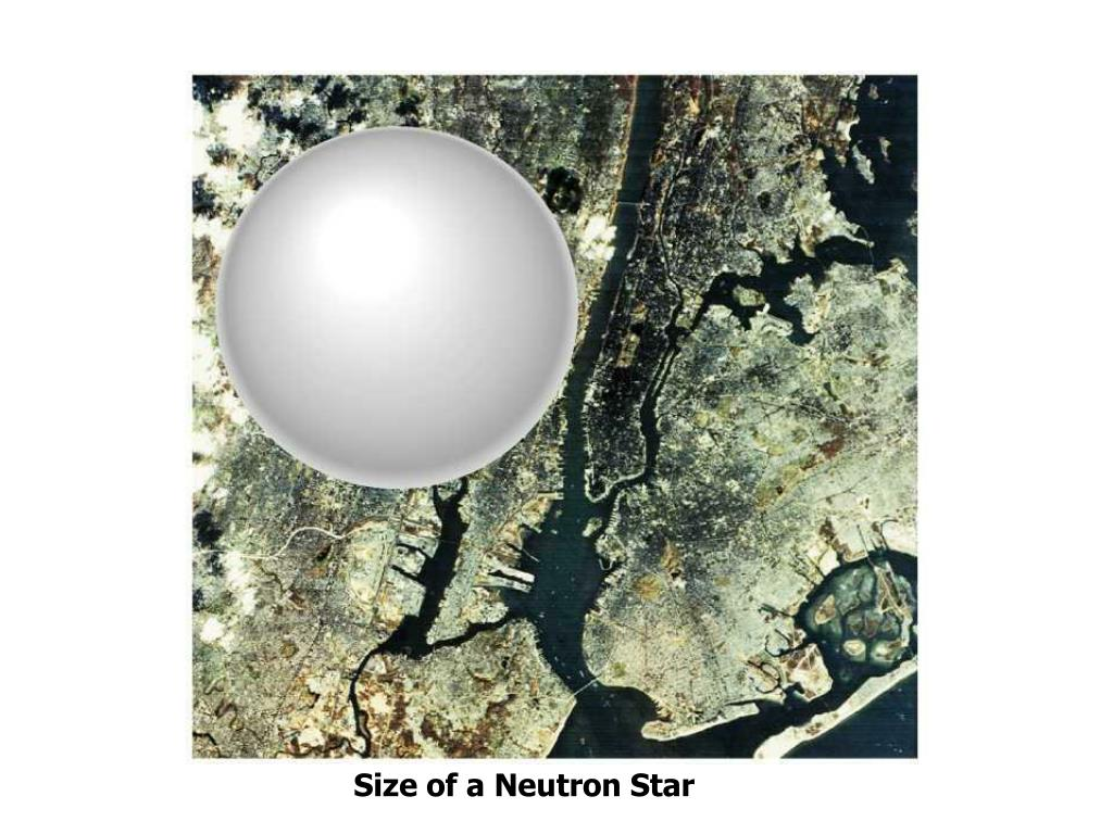 Size of a Neutron Star