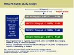 tmc278 c204 study design