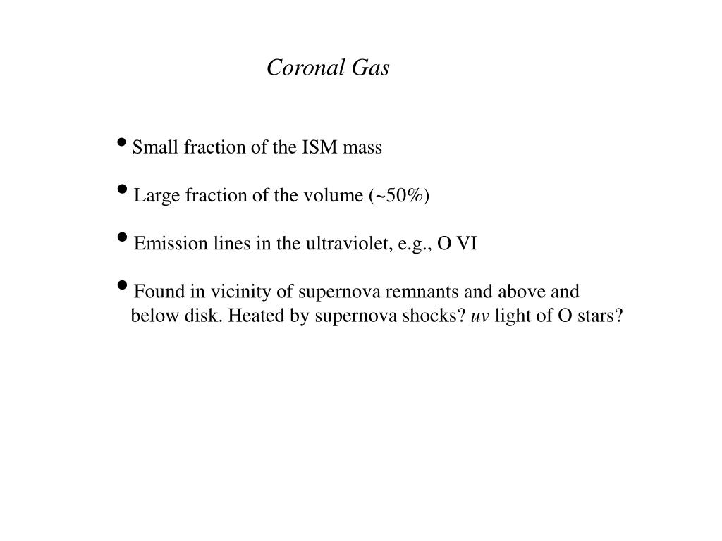 Coronal Gas