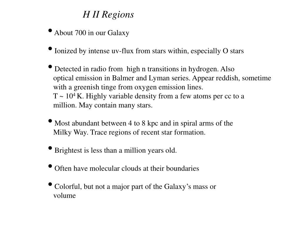 H II Regions
