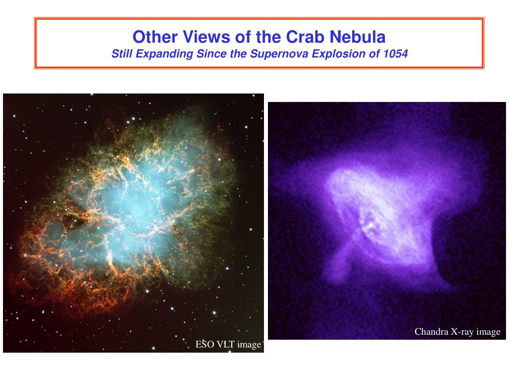 Other Views of the Crab Nebula