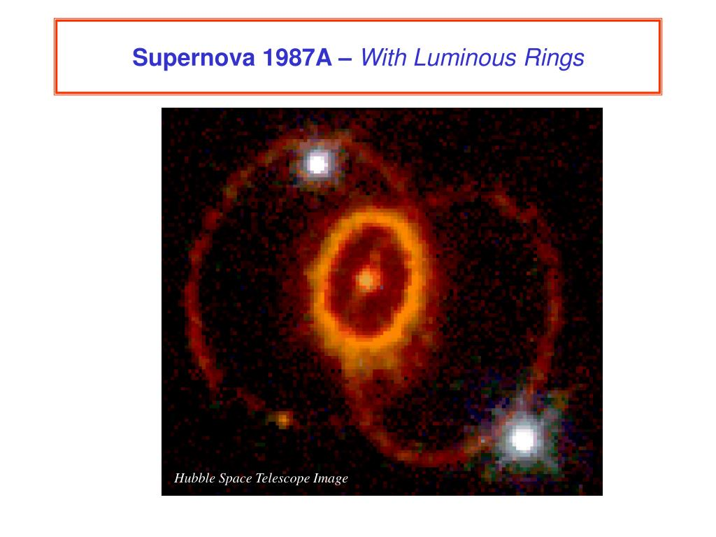 Supernova 1987A –
