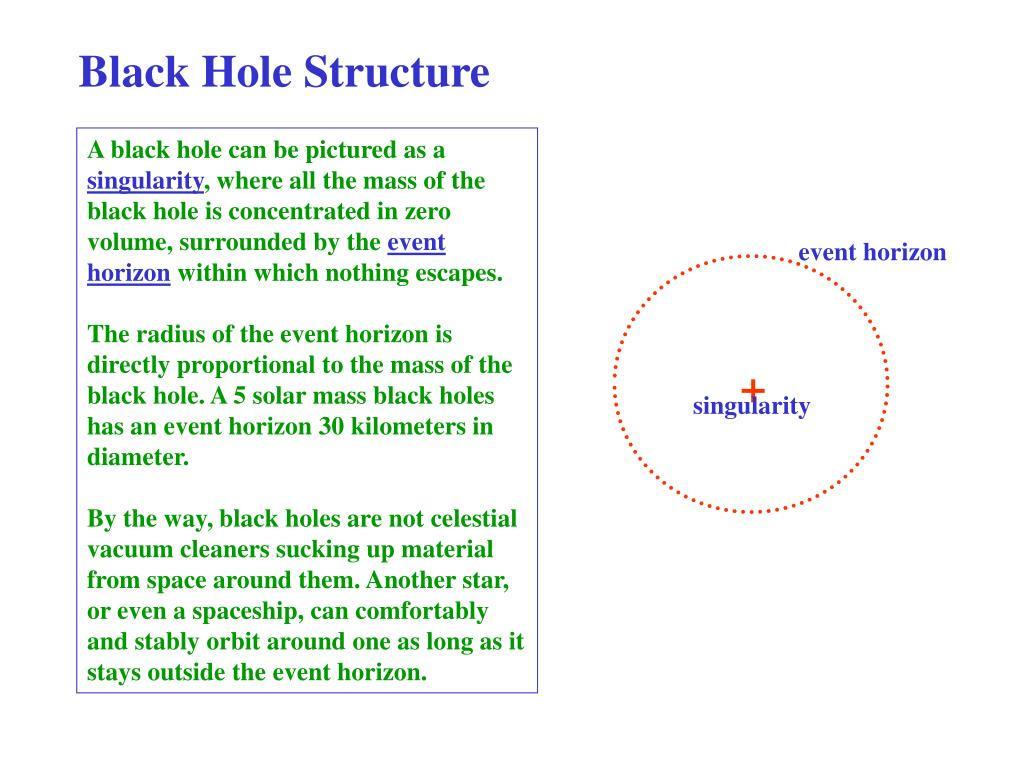 Black Hole Structure