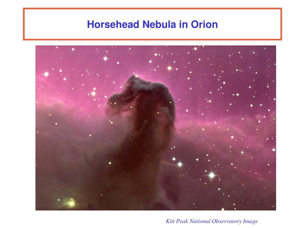 Horsehead Nebula in Orion