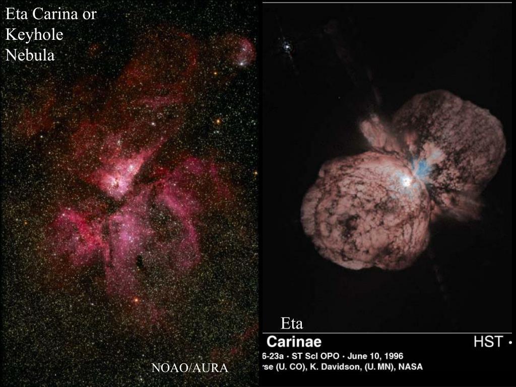 Eta Carina or Keyhole Nebula