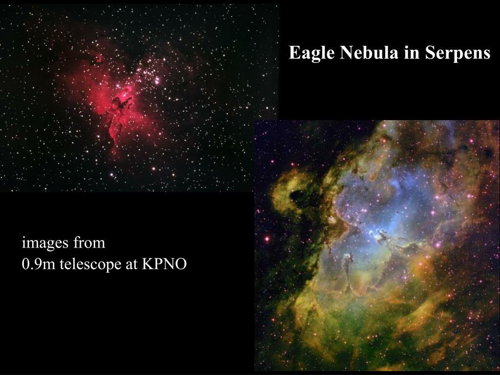 Eagle Nebula in Serpens