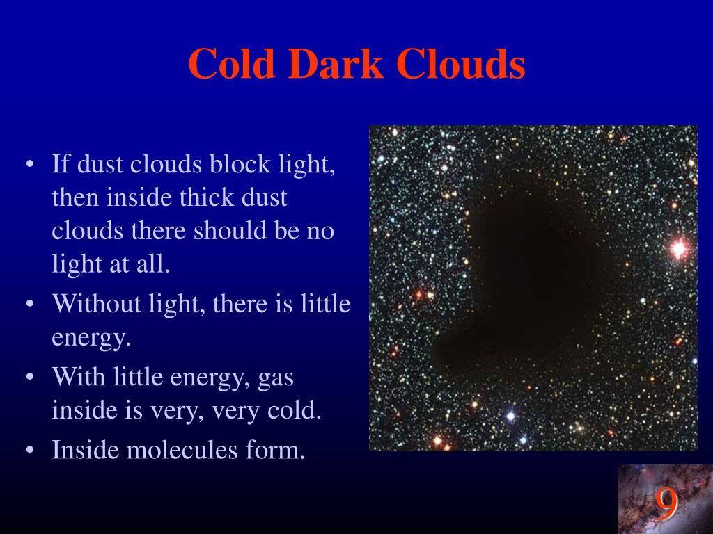 Cold Dark Clouds
