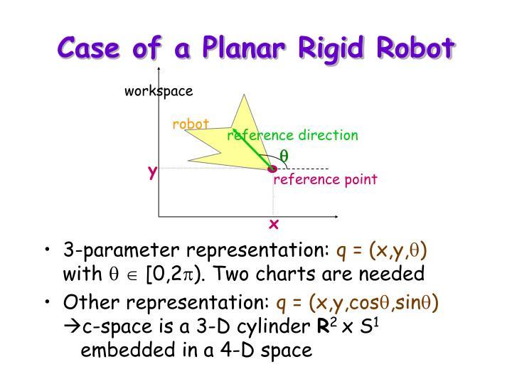Case of a Planar Rigid Robot