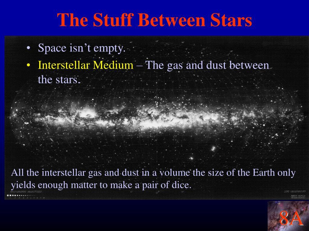 The Stuff Between Stars