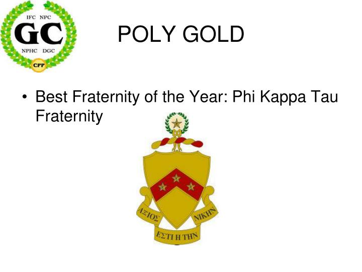 POLY GOLD