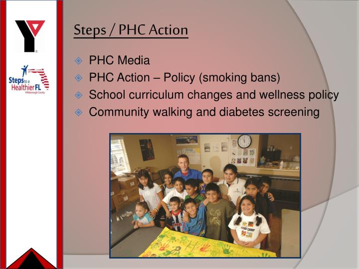 Steps / PHC Action