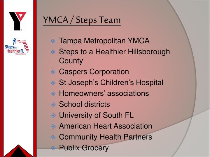YMCA / Steps Team