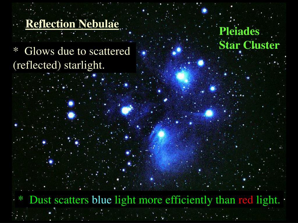 Reflection Nebulae