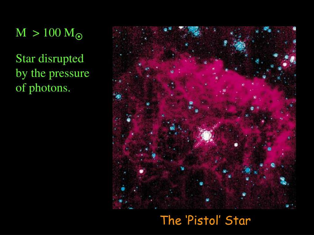The 'Pistol' Star