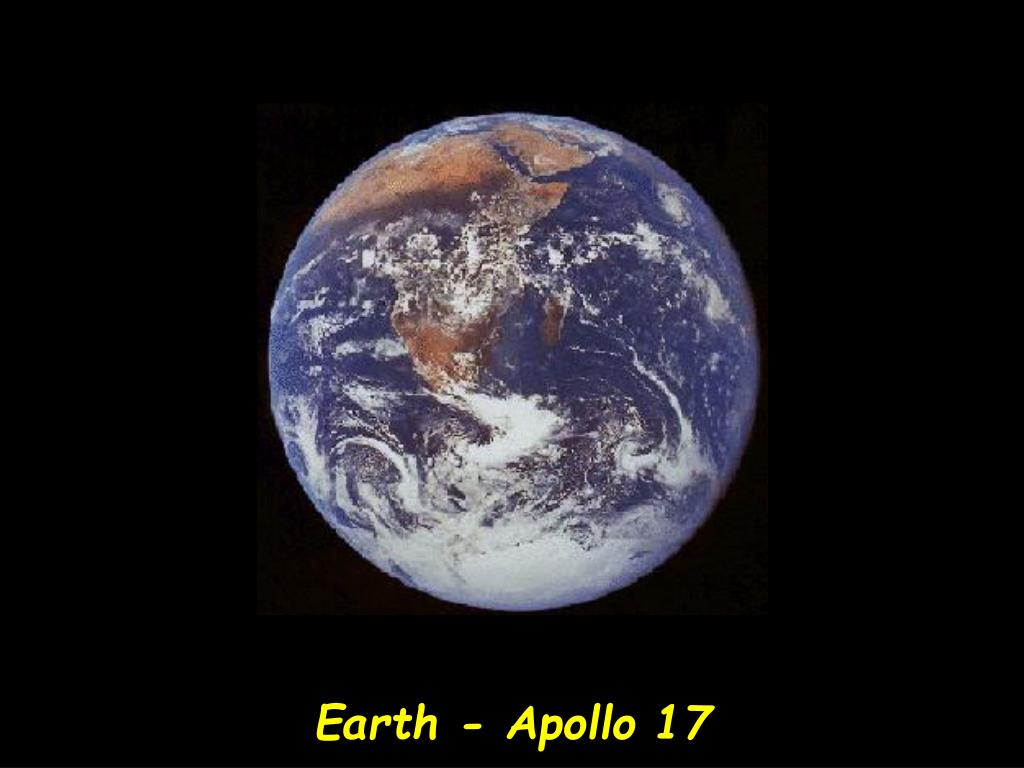 Earth - Apollo 17