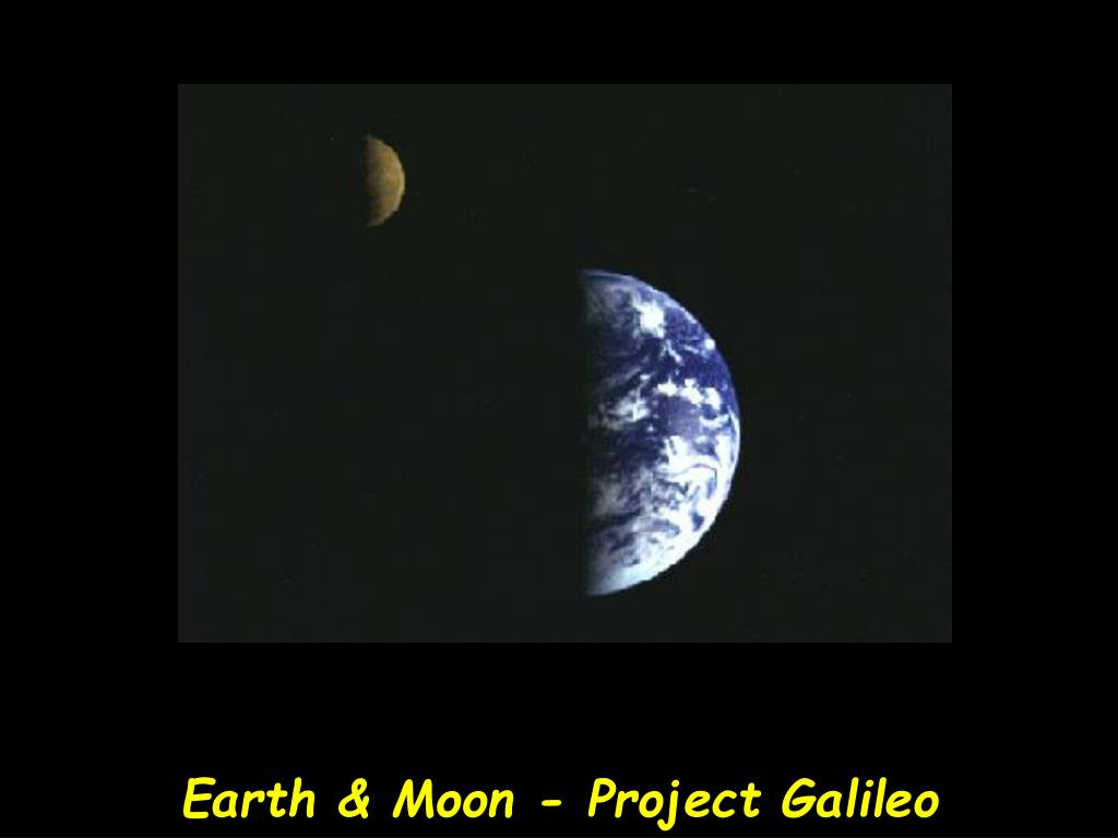 Earth & Moon - Project Galileo
