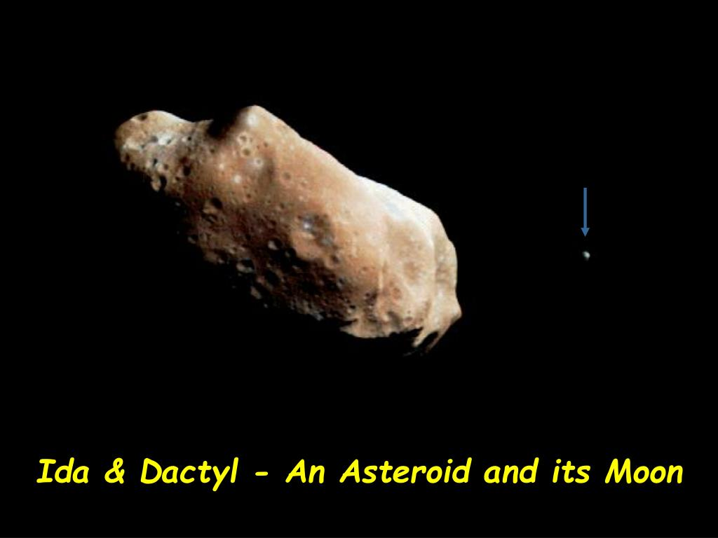 Ida & Dactyl - An Asteroid and its Moon