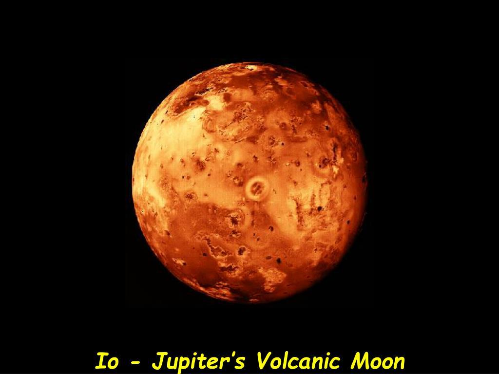 Io - Jupiter's Volcanic Moon