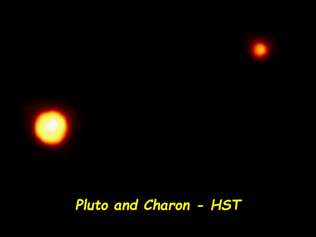 Pluto and Charon - HST