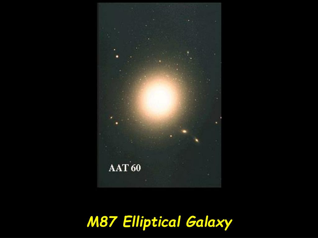 M87 Elliptical Galaxy