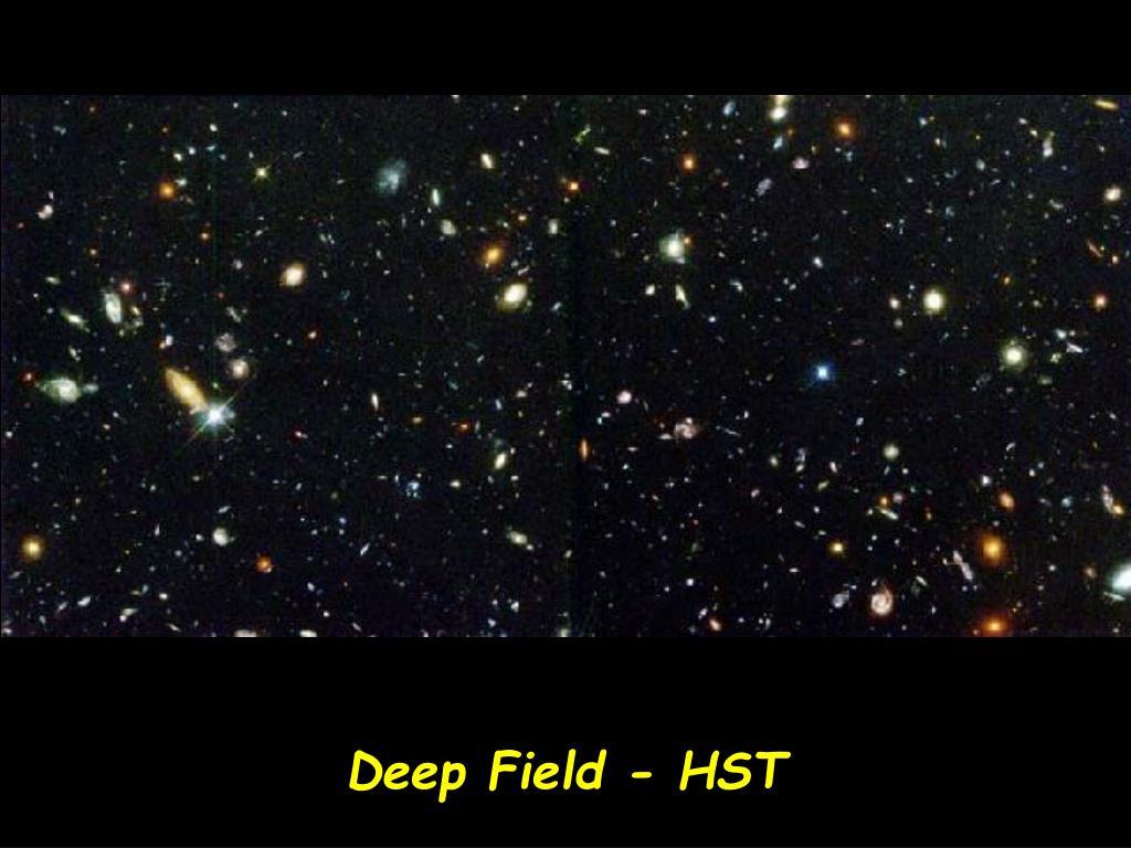 Deep Field - HST