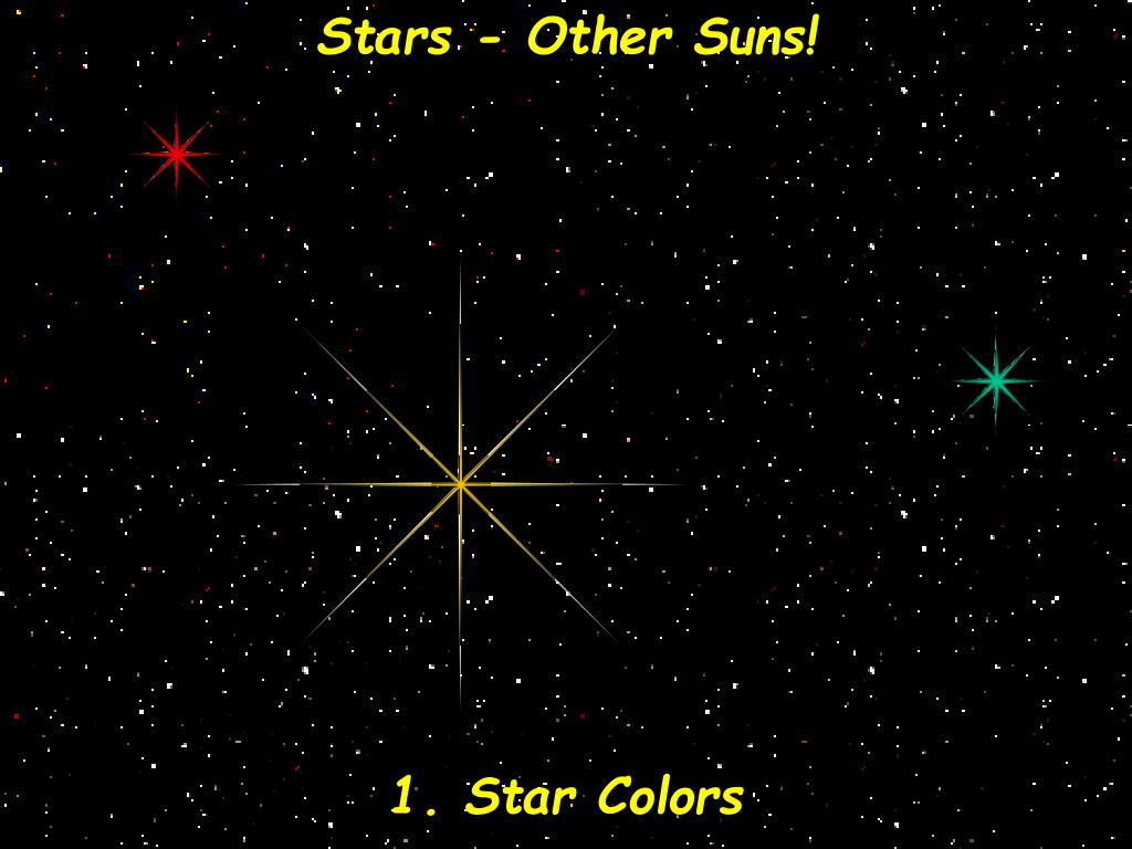 Stars - Other Suns!