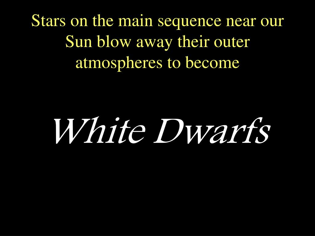 Stars on the main sequence near our Sun blow away their outer atmospheres to become
