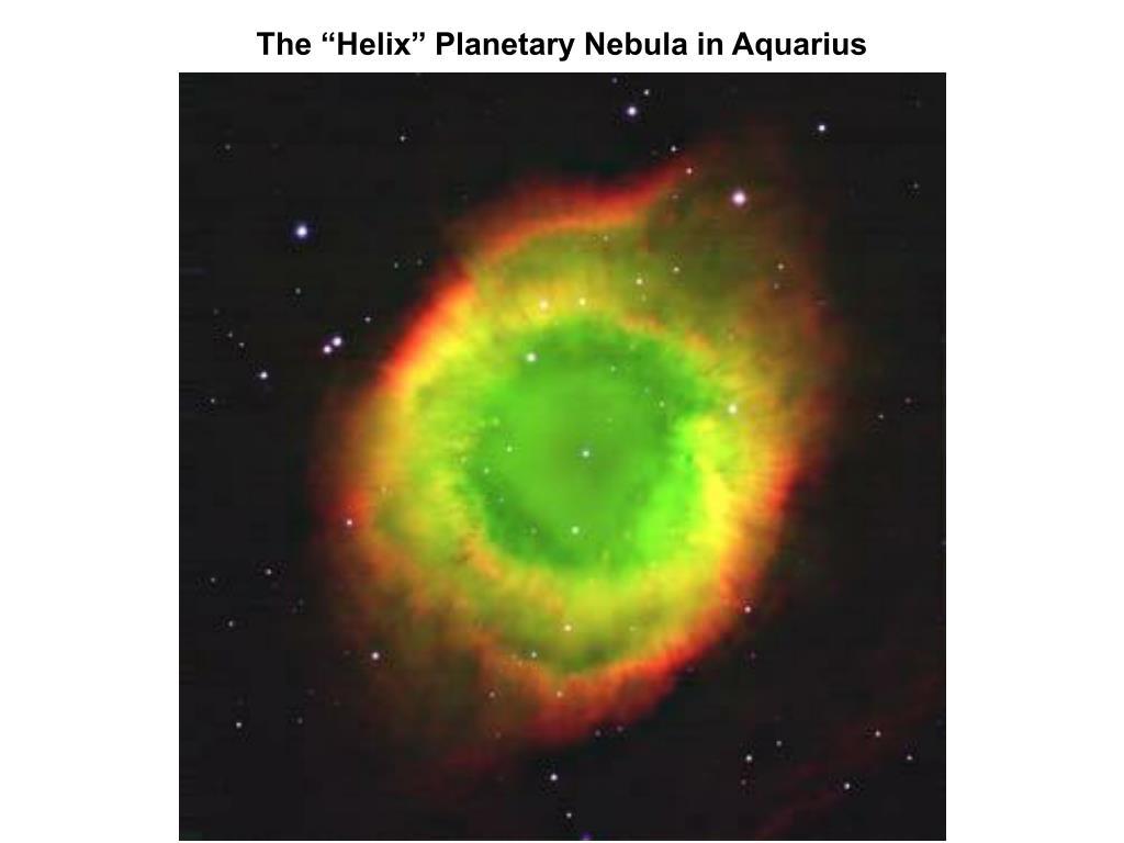"The ""Helix"" Planetary Nebula in Aquarius"