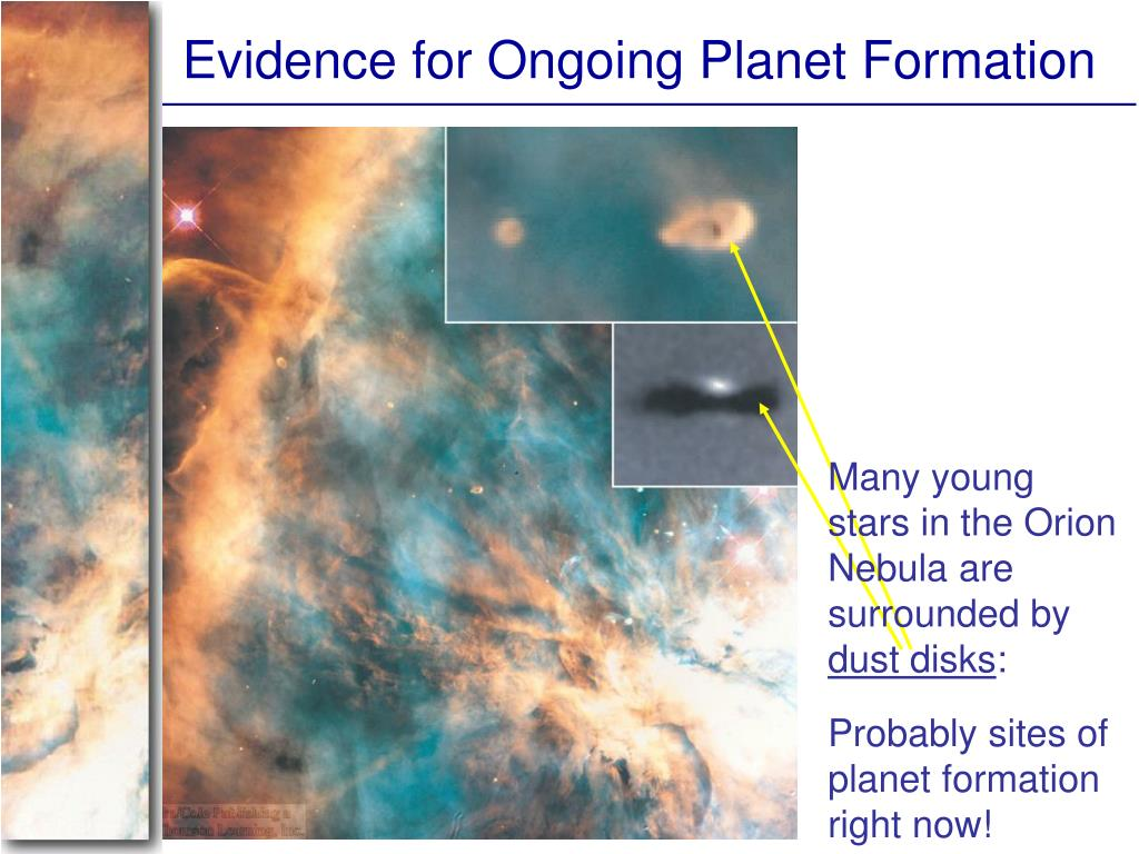 Evidence for Ongoing Planet Formation