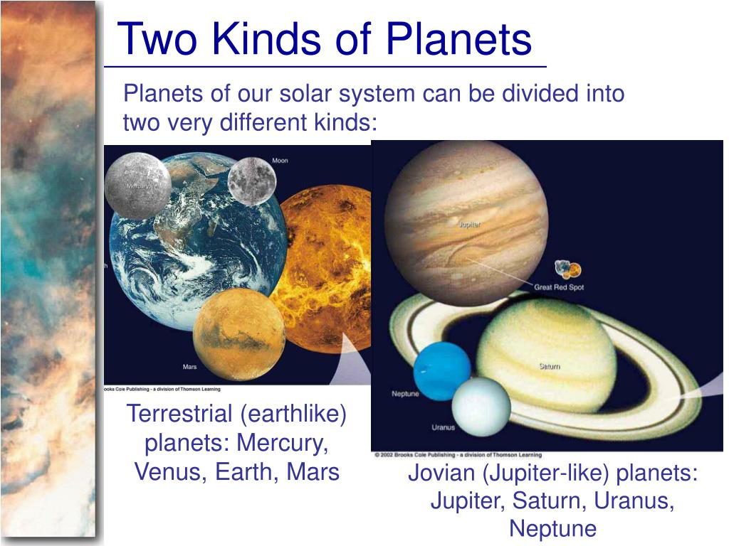 Two Kinds of Planets