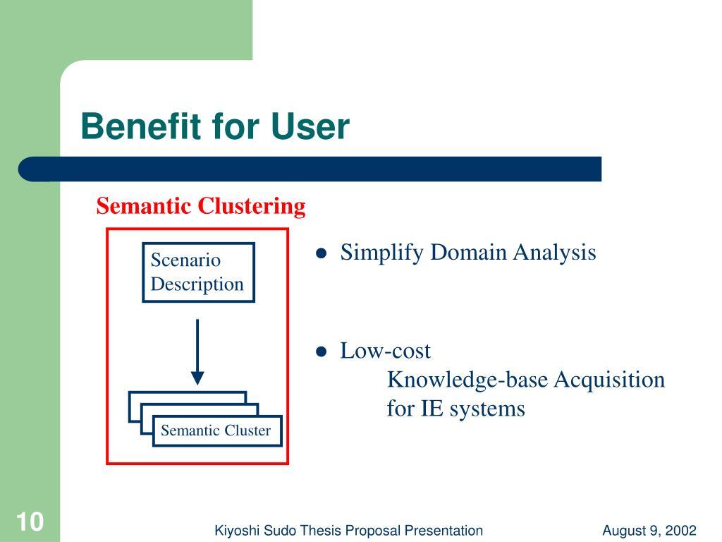 Semantic Clustering