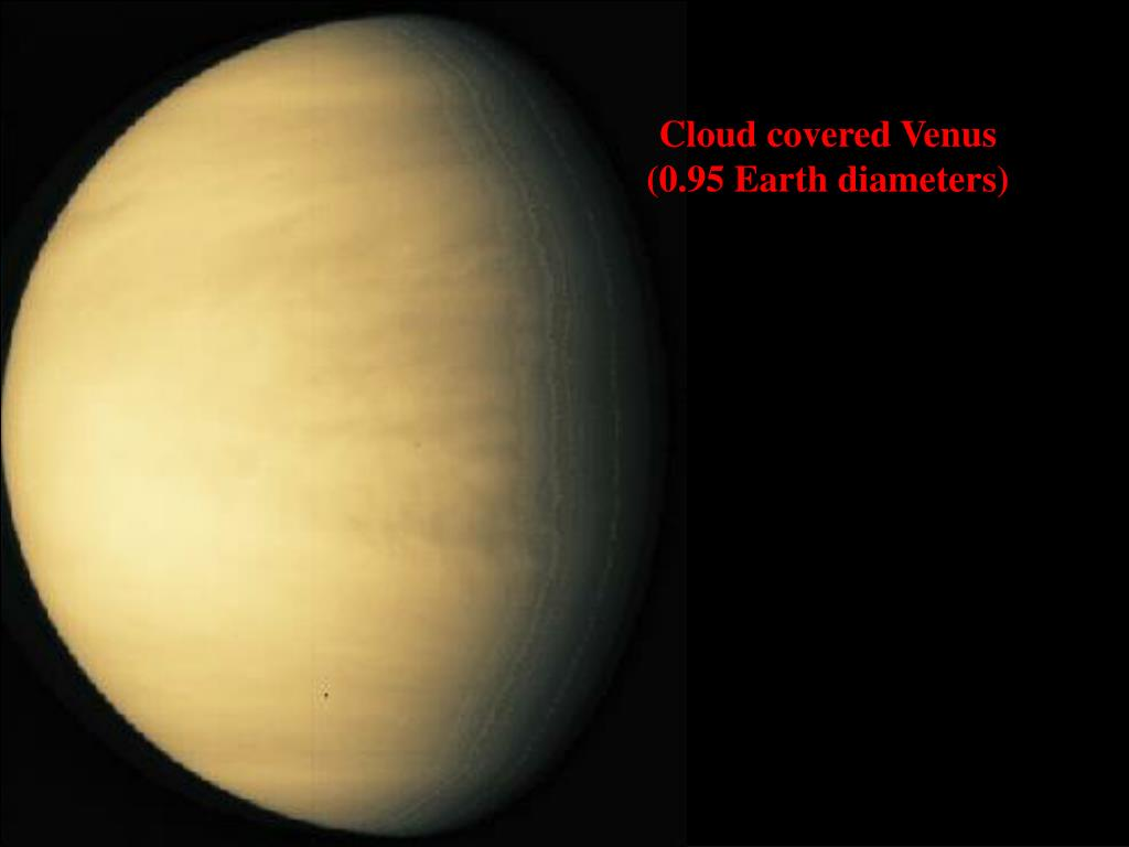 Cloud covered Venus
