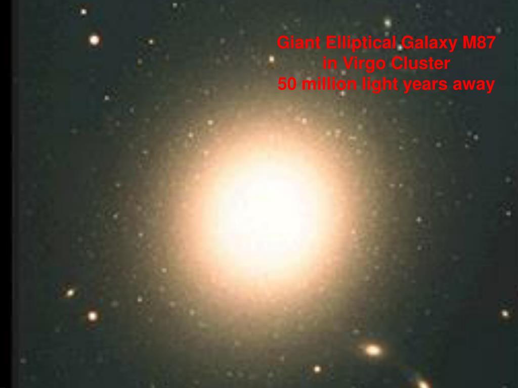 Giant Elliptical Galaxy M87