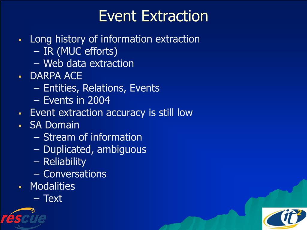 Event Extraction