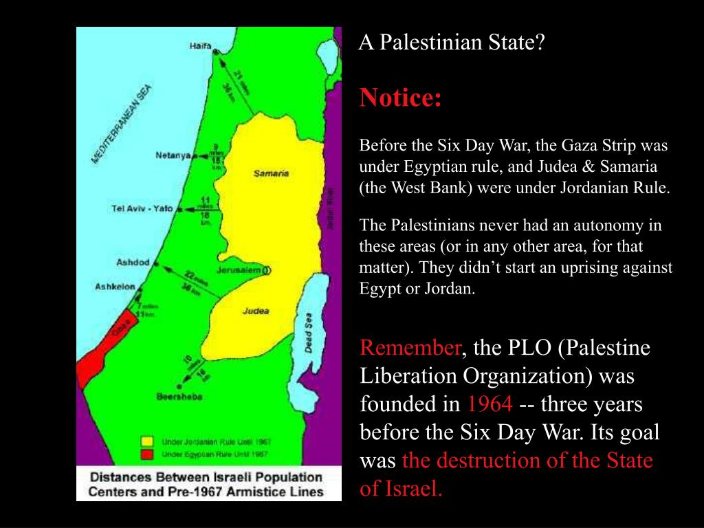 A Palestinian State?