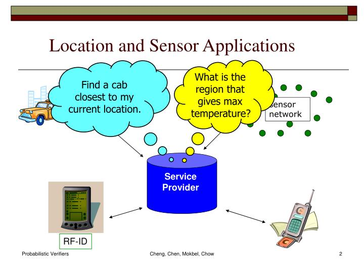 Location and sensor applications
