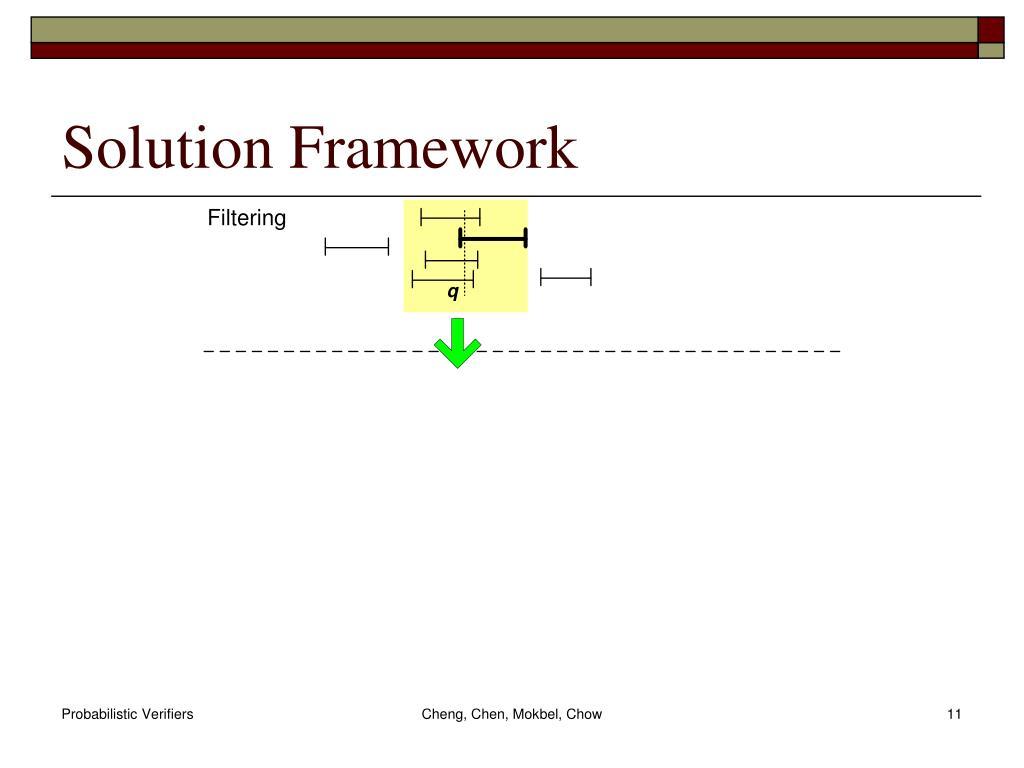 Solution Framework