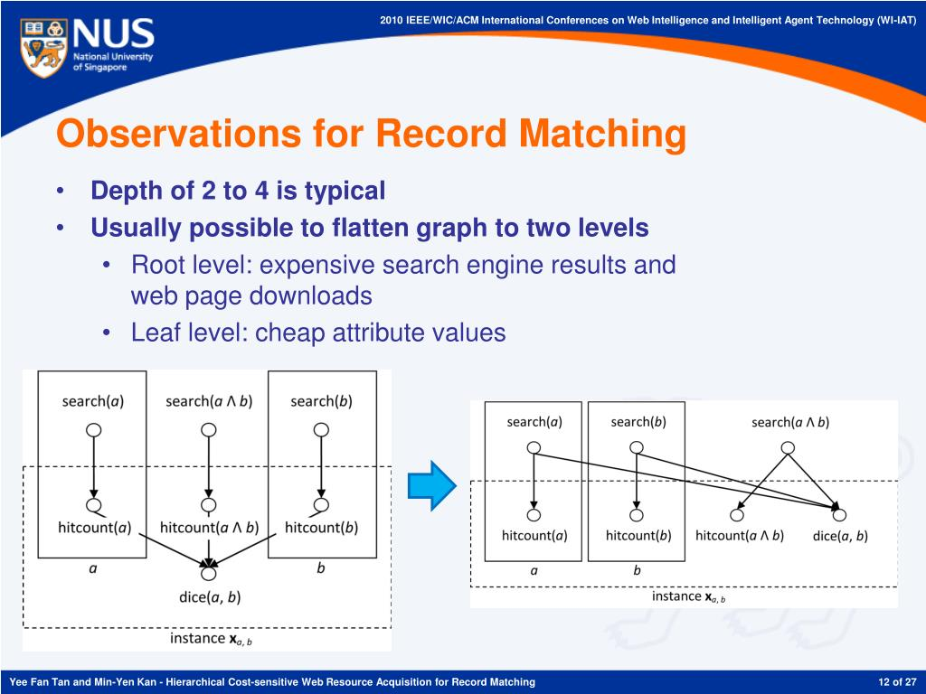 Observations for Record Matching