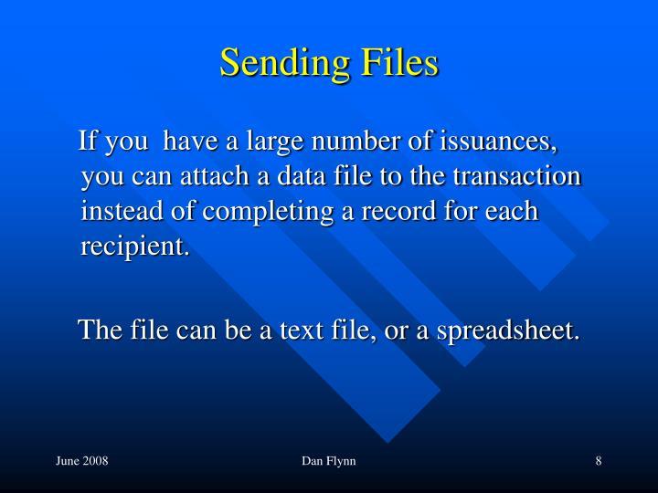 Sending Files